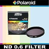 Polaroid Optics ND 0.6 - Filtro gris para cámaras réflex digitales Olympus Evolt E-30, E-300, E-330, E-410, E-420, E-450, E-500, E-510, E-520, E-600, E-620, E-1, E-3, E-5 (11 Lentes Olympus de 22 mm, 12 – 60 mm, 300 mm, 11 – 22 mm).