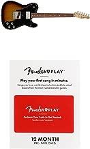 Fender Classic Series 72 Telecaster Custom Electric Guitar - Pau Ferro Fingerboard - 3- Color Sunburst With 12 Months Guitar Lesson Gift Card