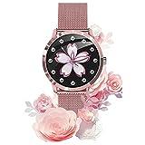 Reloj Inteligente Smartwatch Para Mujeres, Monitor De Ciclo...