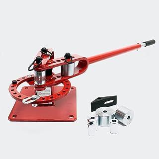 Máquina dobladora universal compacta para acero redondo y cuadrado Doblar acero Taller Uso versátil