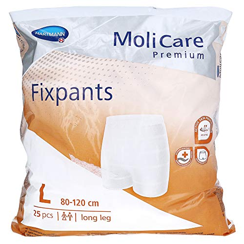 MOLICARE Premium Fixpants long leg Gr.L 25 St