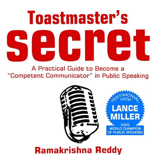 Toastmasters Secret audiobook cover art