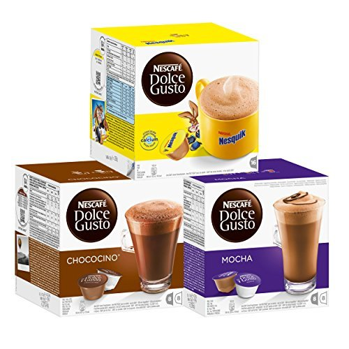 Dolce Gusto the CHOCOLATE collection - Mocha - Nequik - Chocino - DOLCE GUSTO CHOCOLATE by Dolce Gusto