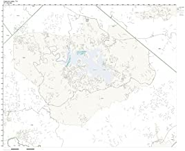 ZIP Code Wall Map of Canyon Lake, TX ZIP Code Map Laminated