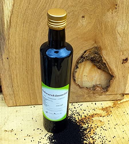Naturix24 Schwarzkümmelöl kaltgepresst 500 ml