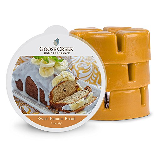 Goose Creek Wax Melt Pack zoete banaan brood, bruin, 8 x 8 x 2,5 cm