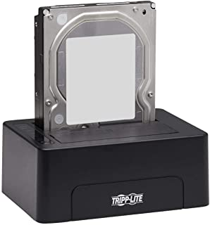Tripp Lite USB 3.0 SATA وحدة شحن القرص الصلب 2.5/3.5 وات / وظيفة المسح (U339-E02)