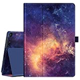 Fintie Case for Onn. 10.1' Tablet Pro (Model: 100003562), Premium Vegan Leather Folio Protective Stand Cover with Pencil Holder for Onn 10.1 inch Pro Tablet (Galaxy)