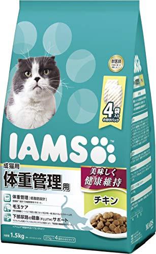 アイムス(IAMS)キャットフード成猫用体重管理用チキン1.5kg