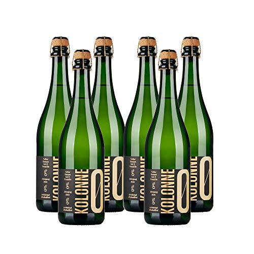 Kolonne Null - Alkoholfreier Sekt (6 x 0,75 L) - Riesling Jahrgang 2018
