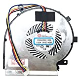 Ventilador de refrigeración compatible con MSI, GL62M 7RE-406, MSI GL62 6QDi581, GL62M 7RD-256, GL62 6QFi58S2FD (4 pines)