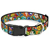 Buckle-Down Plastic Clip Collar - Stacked...