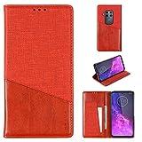 EUDTH Motorola One Zoom/Pro Case, Flip Leather Case Cards