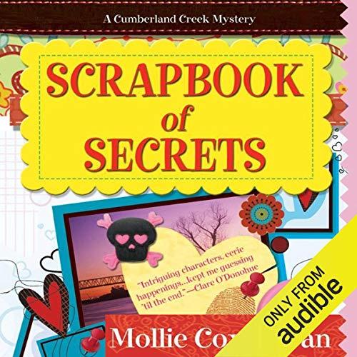 Scrapbook of Secrets audiobook cover art