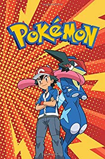 Pokemon: Notebook, Sticker Book, Guide, Activity Book, Colouring Book, For Beginners, Journal For Kindergarten, Grades K-2, Draw And Write, Diary, ... Gift For Kids (100+ Ruled Lined Pages)