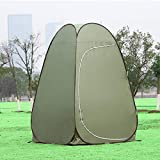 HWLY Pop Up Camping Shower Tent, Portable Dressing Changing Room Privacy Shelter Tents for Outdoor Camping Beach Toilet and Indoor Photo Shoot with Carrying Bag, 6.25 ft Tall