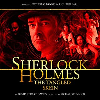Sherlock Holmes - The Tangled Skein audiobook cover art