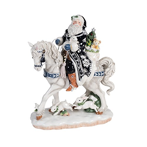 Fitz and Floyd Bristol Holiday Collectible Figurine, Muli Colored -  Lifetime Brands Inc., 49-624