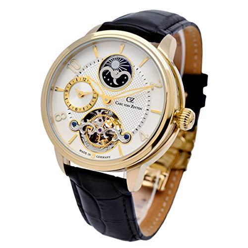 Carl von Zeyten Herren Uhr Armbanduhr Automatik Calw CVZ0046GWH