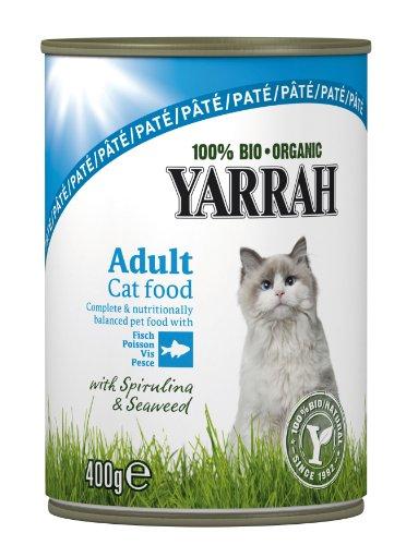 Yarrah Bio Pâté au Poisson pour Chat 400 g - Lot de 6