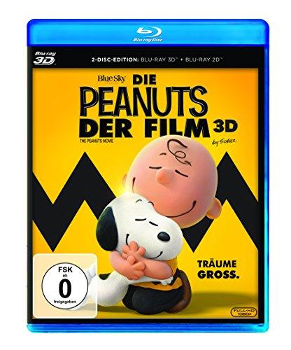Die Peanuts - Der Film [3D Blu-ray]