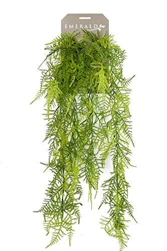 Red Hot Plants Künstliche Spargelpflanze, 80 cm lang, Farnähnliche Nachbildung – Spargel Plumosus
