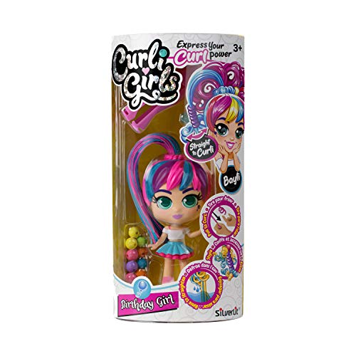 Curli Girls 82082 Doll, Mixed Colours