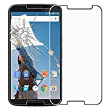 ebestStar - Cristal Templado Compatible con Motorola Nexus 6, Nexus X Protector de Pantalla, Película Vidrio Protectora Ultrafina, Dureza 9H, Sin-Burbujas [Aparato: 82.98 x 159.26 x10.06mm, 5.96'']