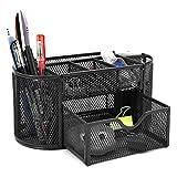 BTSKY - Porta oggetti da scrivania a 9scomparti multi-funzionale, salvaspazio per uffici...