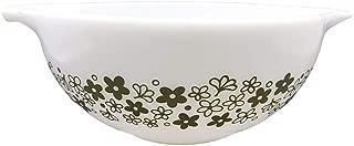 Corning Ware / Pyrex Spring Blossom Cinderella Mixing Bowl ( White ) ( 2 1/2 Quart ) ( 443 )