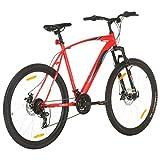 Festnight - Bicicleta de montaña prémium de 29 Pulgadas, para niños, niñas, Mujeres y Hombres, Cambio Shimano de 21 velocidades,suspensión Completa