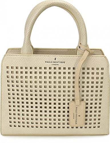 Pauls Boutique, Logan, dames handtassen, handtassen, handtassen, Tote Bag, beige, 25 x 20 x 10 cm (B x H x D)