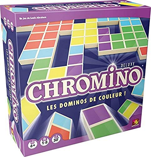 Chromino Deluxe - Asmodee - Jeu de société - Jeu de domino