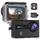 Icefox Action Cam 4K Unterwasserkamera Wasserdicht 40M Ultra HD 20MP Kamera 170 ° Ultra-Weitwinkel...