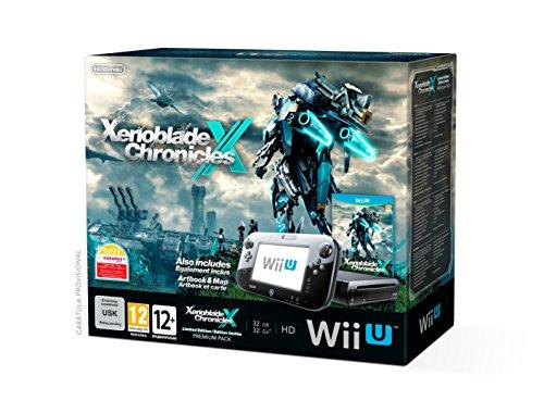 Nintendo Wii U - Consola Premium HW + Xenoblade Chronicles X + Libro Ilustraciones + Mapa - [Edizione: Spagna]