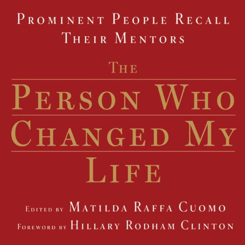 The Person Who Changed My Life audiobook cover art