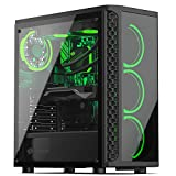 Sedatech PC Gaming Advanced Intel i7-9700F 8X 3.0Ghz, Geforce GTX1650 4Gb, 8Gb RAM DDR4, 500Gb SSD NVMe M.2 PCIe, 2Tb HDD, USB 3.1, WiFi. Ordenador de sobremesa, Win 10