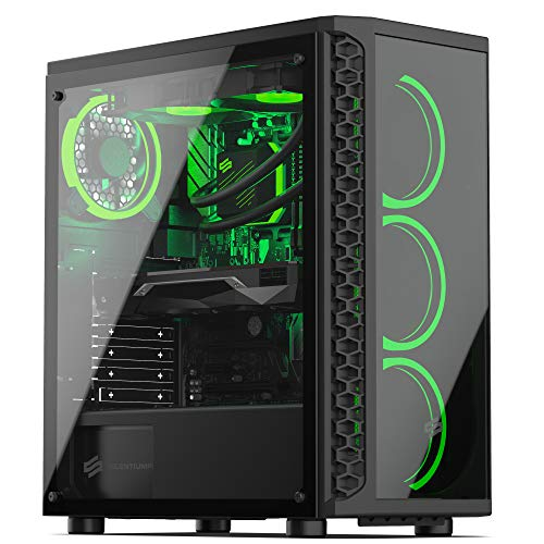 Sedatech PC Gaming Advanced AMD Ryzen 3 1200 4X 3.1Ghz, Geforce GTX 1650 4Gb, 8 GB RAM DDR4, 500Gb SSD NVMe M.2 PCIe, 1Tb HDD, WiFi. Ordenador De Sobremesa, Win 10