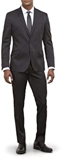 Men's Skinny Fit Stretch Finished Bottom Suits
