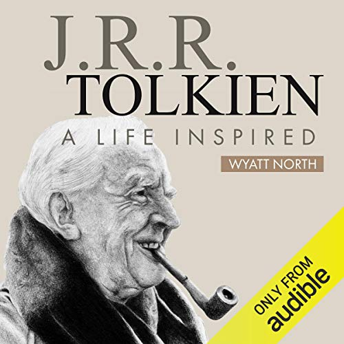 J.R.R. Tolkien audiobook cover art