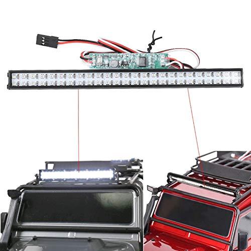 Wosune Luz de Techo RC Colorida, luz de Techo de Coche RC Luz de Techo RC para ensamblar Las Piezas para el Coche teledirigido