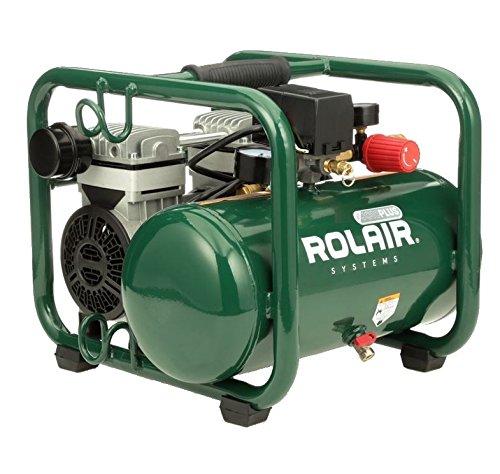 RolAir JC10PLUS 1HP Oil-Free Portable Air Compressor #JC10PLUS