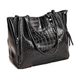 fashion women tote bag alligator handbag ladies crocodile tote bag