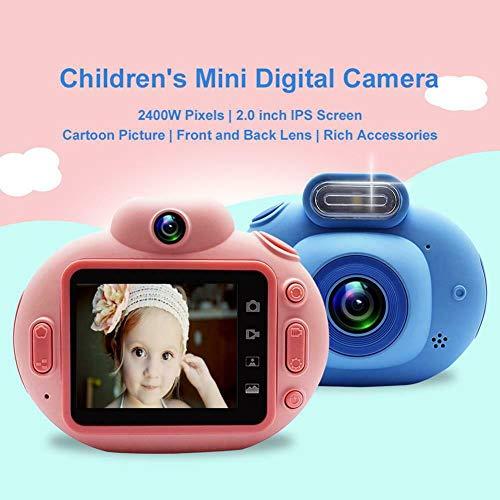 DishyKooker Digitalkamera für Kinder, 5,1 cm (2 Zoll), IPS HD 1080p, Mini-Camcorder, VCR, perfektes Geschenk für Kinder