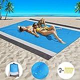 Beach Blanket Sand Proof Beach Mat Sand Free Extra Large...