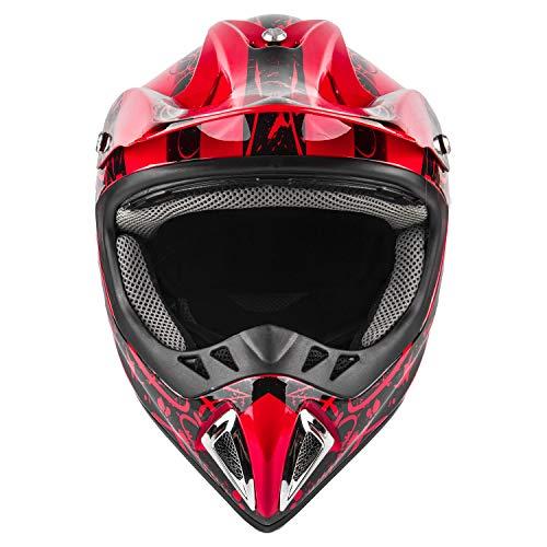 Product Image 4: Typhoon Adult ATV MX Helmet Goggles Gloves Gear Combo