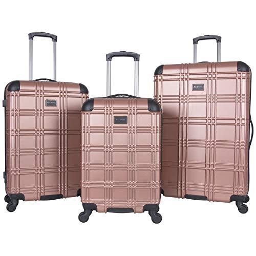 Ben Sherman Luggage Nottingham 3 Piece Hardside Spinner Luggage Set