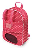 Badger Basket Doll Travel Backpack with Plush Friend Compartment - Pink/Star