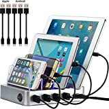 Simicore Smart Charging Station Dock & Organizer for Smartphones, Tablets &...