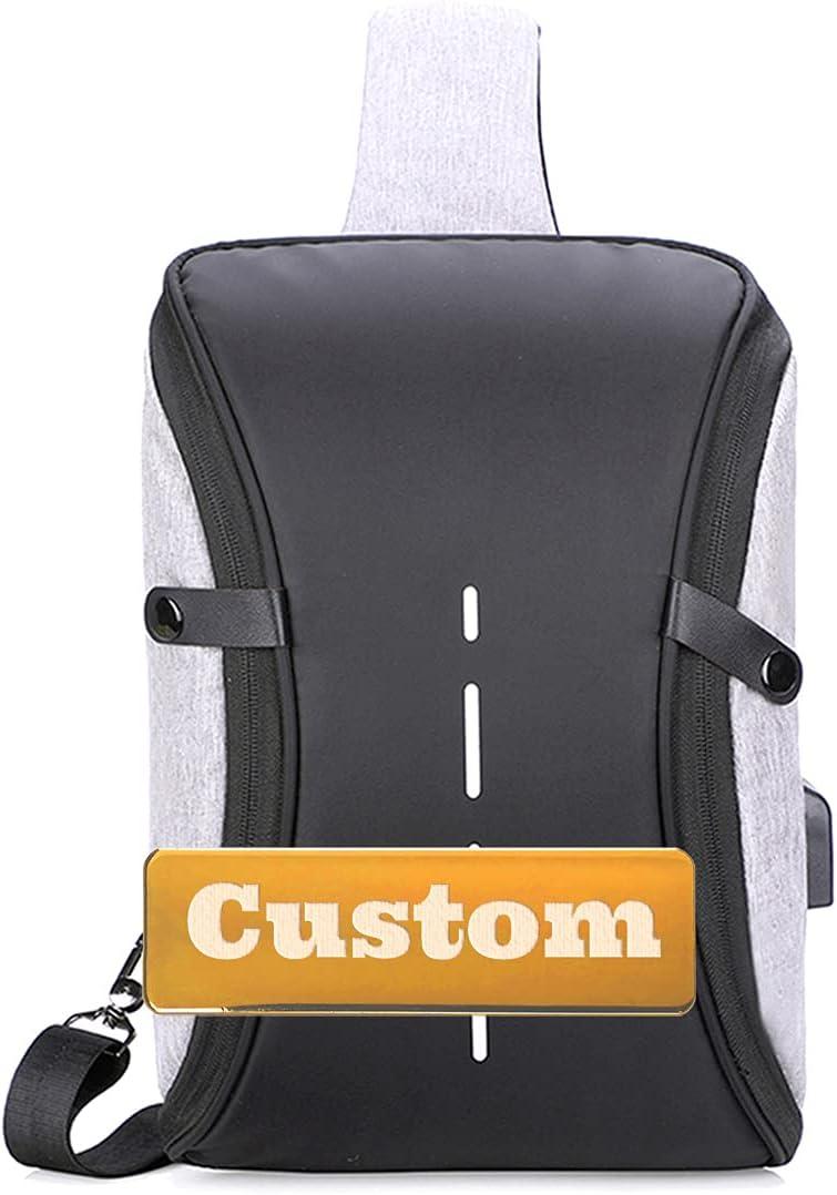 Max famous 41% OFF Custom Name Sling Crossbody Work U Bag Usb Shoulder
